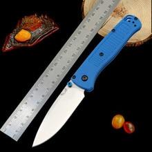 Best folding knives  BM 535 folding knife Nylon fiberglass handle folding knife camping survival tool EDC small tool AXIS system