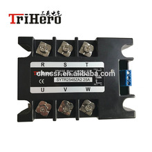 цена на 3 phase motor control module SSR solid state relay 25A,AC input,motor reversing SSR