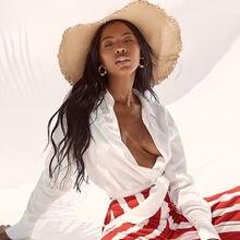 Женский модный комбинезон на шнуровке с длинным рукавом Солнцезащитный