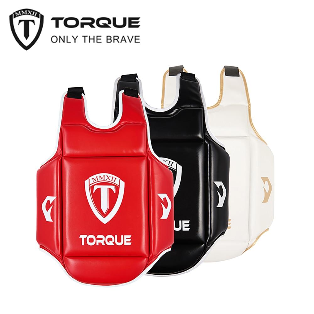 TORQUE Boxing Body Protector Chest Guard Vest Kids MMA Kick Equipment Sanda Martial Arts Taekwondo Training Karate Muay Thai