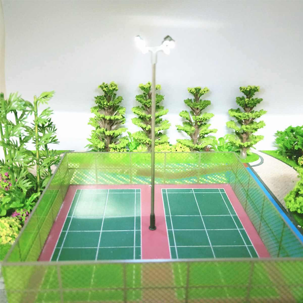 Nowy projekt 10 sztuk budowy HO OO Model światła ruchu świateł sygnału obwodu LED Model DIY na ulicy pociągu kolejowego