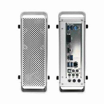 METAFISH G5 Mini Aluminum HTPC Chassis Mini ITX Slim Gaming Computer Case With DC-ATX Power Supply Free shipping For ITX MINI цена 2017
