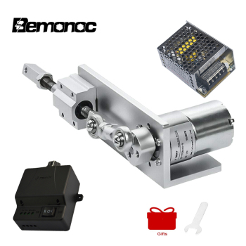 цена на Bemonoc DIY Design Reciprocating Cycle Linear Actuator DC Gear Motor 12V 24V Actuador Lineal Eletric Linear Actuator Motor