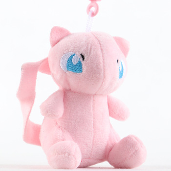 10cm  Jigglypuff Charmander Bulbasaur Squirtle Eevee Pokemoned plush toy For Children Activity gift small Soft Doll Anime 2