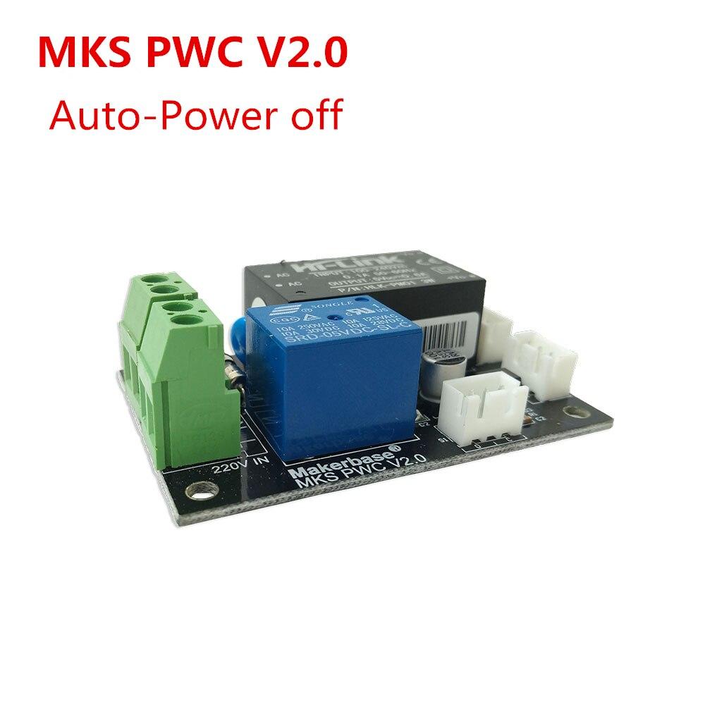 MKS PWC V2.0 auto off após a impressão final módulo monitor de potência 3D coisas de impressora 3d impressão do poder-fora automático eletricidade fora