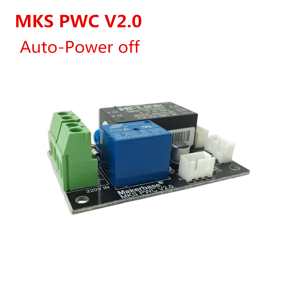 MKS PWC V2.0 Auto Off After Printing End Module Power Monitor 3D Printer Things 3d Printing Power-off Automatic Electricity Off