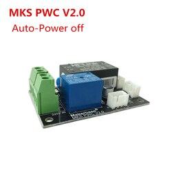 Mks pwc v2.0 desligamento automático após a impressão módulo final monitor de energia impressora 3d coisas impressão 3d eletricidade automática fora