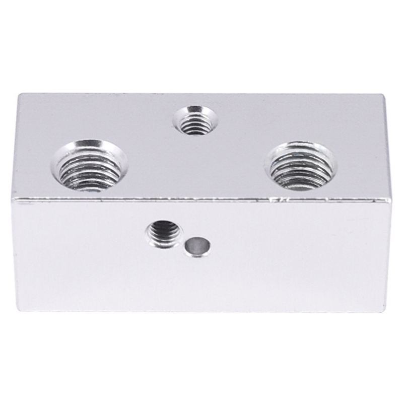 All Metal Multi Extrusion 2 In 1 Out Cyclops Aluminium Heater Block Multi Color Nozzel 1.75Mm For 3D Printer-in 3D Printer Parts & Accessories from Computer & Office