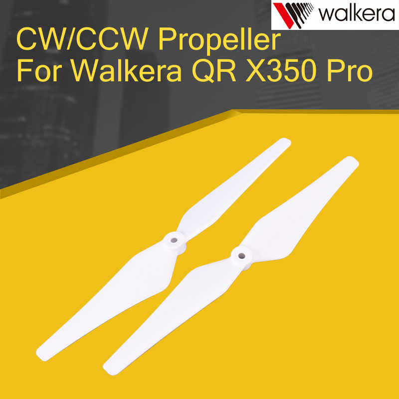 2PCS Upgrade Accessary-Z-01 CW/CCW Schroefbladen Voor Walkera QR X350 Pro RC Quadcopter Onderdelen Wit