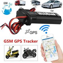Realtime GPS GPRS GSM Tracker Speed Alarm For Car Vehicle Motorcycle GPS locator Vehicle Tracking Device cheap kingslim other Waterproof GPS Tracker Europe No Screen
