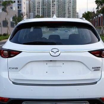 3 шт. ABS пластиковая крышка багажника задняя дверь формовочная отделка для 2017 2018 2019 Mazda CX-5 CX5 CX 5 автомобильные аксессуары Стайлинг