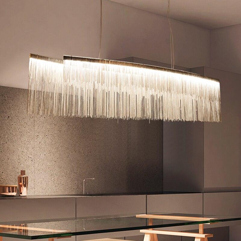 Modern Aluminum LED Pendant Lights Lighting Indoor Decor Pendant Lamp Dining Living Room Bedroom Kitchen Fixtures Hanging Lamp