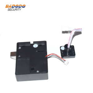 Image 4 - Plastic Fingerprint cabinet door lock biometric electric lock with chargeable battery  for drawer locker cupboards