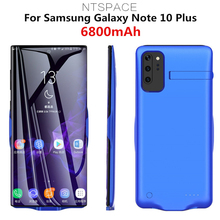 6800mAh External Battery Cases for Samsung Galaxy Note 10 Plus Ultra Slim Backup Power Bank Cases For Samsung Note 10 Power Case