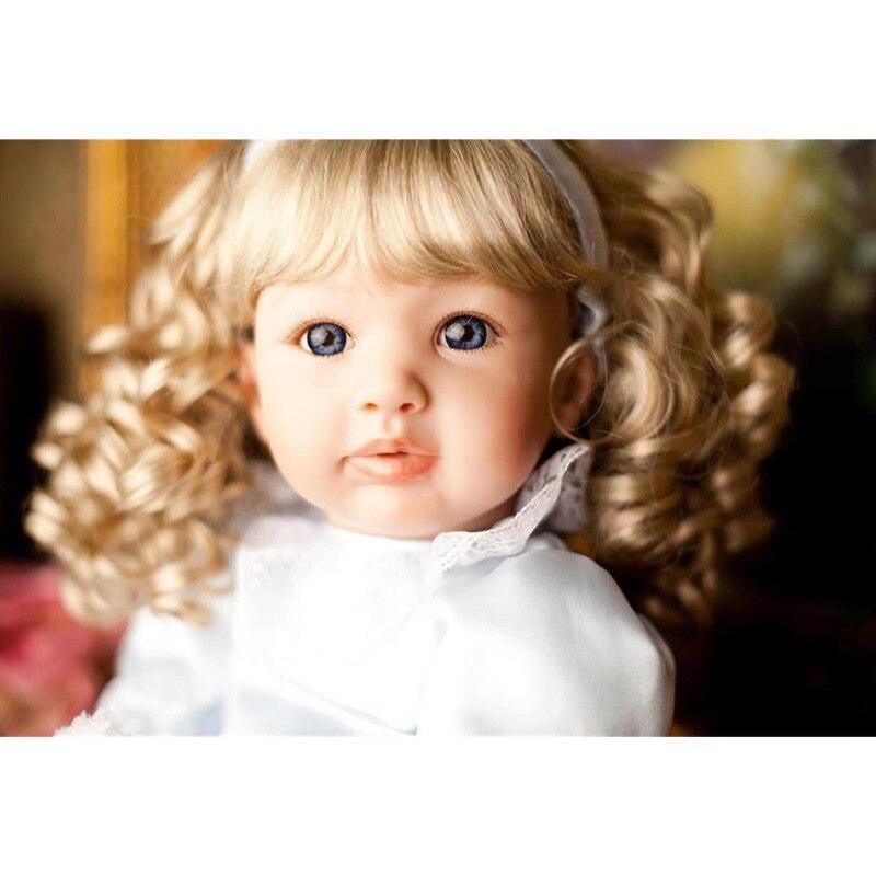Silikon Rebron Baby Puppen Neugeborenen Baby Kinder Spielkameraden Handgemachte Gliederpuppe Mode DIY Spielzeug