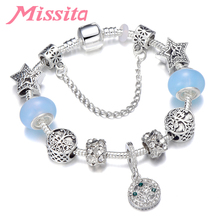 MISSITA Natural & Life Series Charm Bracelet with Tree of Pendant Brand for Women Anniversary Party Gift Mom