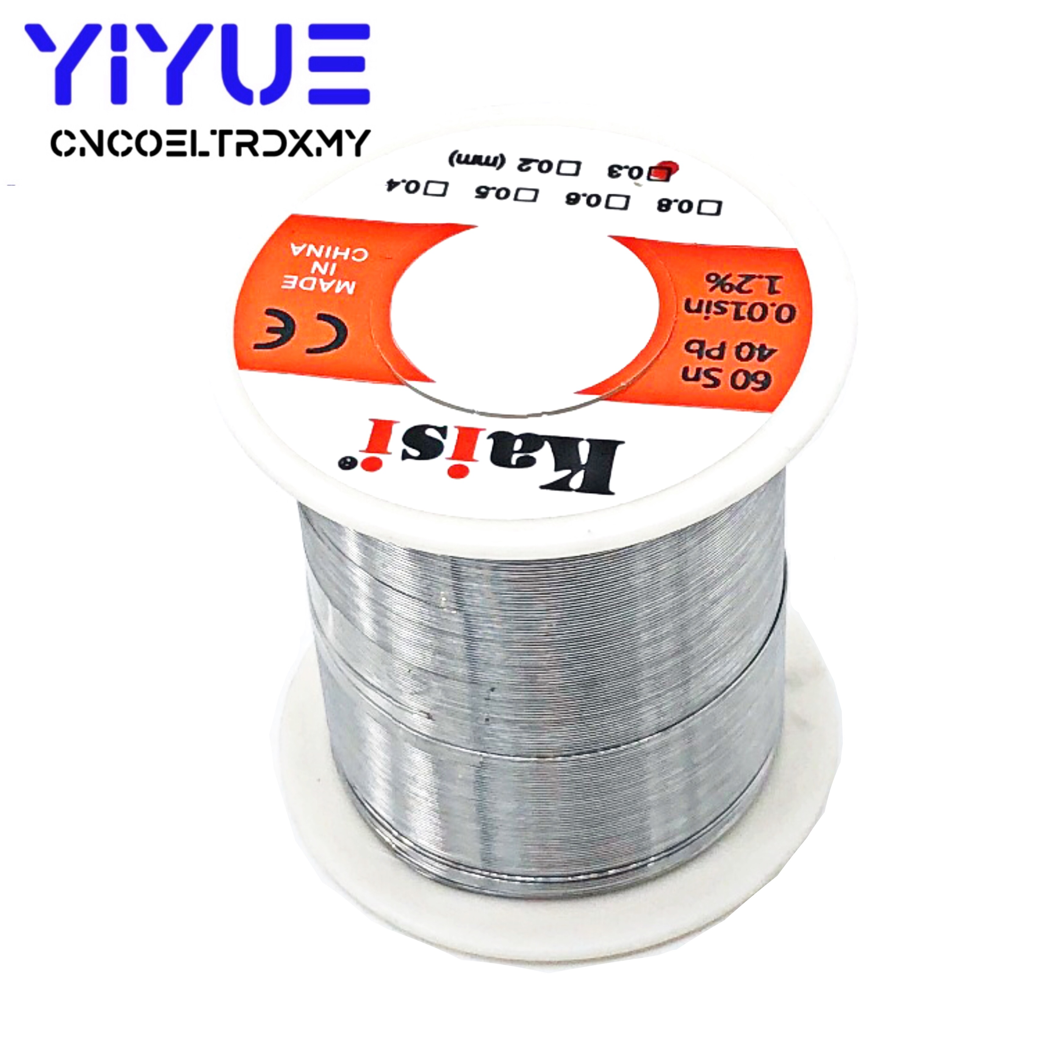 0.3mm/0.4mm/0.5mm/0.6mm 150g Flux 1.2% Rosin Core Tin Lead Solder Wire Sn60 / Pb40 For Welding Works