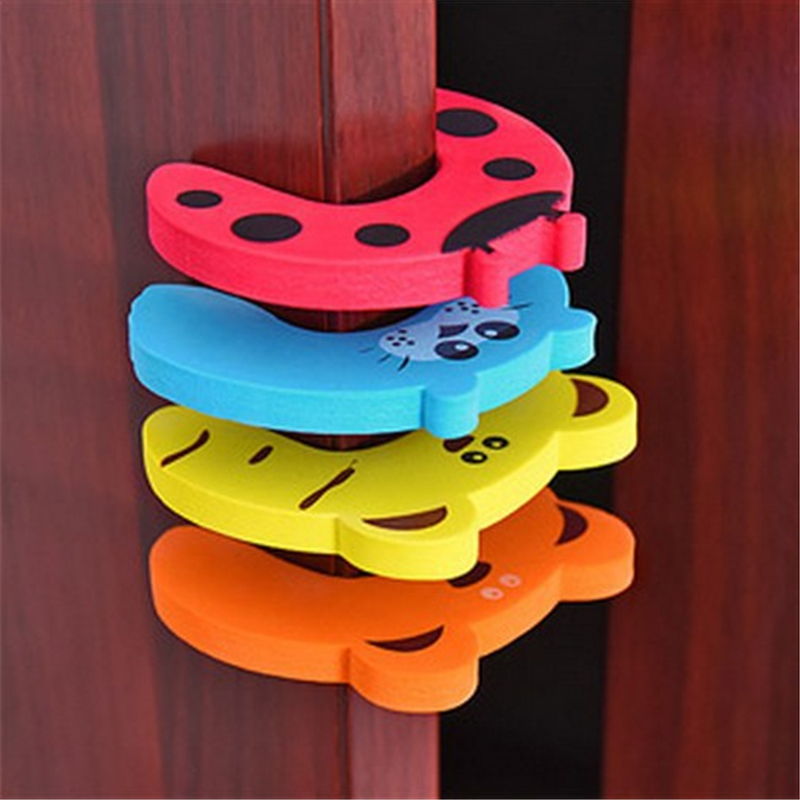 Baby Child Proofing Door Stoppers Finger Safety Guard Random Animal Holder Lock Safety Guard Finger Protect Toy For Baby