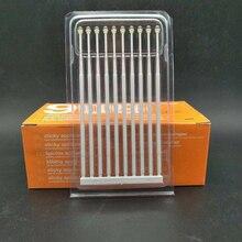 10 pcs Dental Adhesive Tip teeth Applicator Tooth Crown Porcelain Veneer  Brush Disposable Health Care