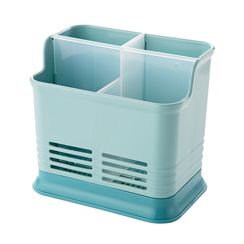 Kitchen Chopsticks Storage Box Drain Rack Spoon Bucket Knife Fork Tableware Holder Racks Kitchen Utensil Holder