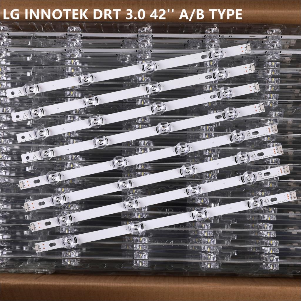 LED Strip For LG DRT INNOTEK DRT 3.0 42'' A/B TYPE 6916L-1956E 6916L-1957E 1709B 1710B 42LY310CA 42LB563V 42LB561V 42LB5610