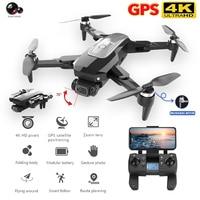 HJ38-Dron con cámara 4k HD plegable profesional Quadcopter distancia 2000M Motor sin escobillas GPS 5G Wifi Rc helicóptero Juguetes