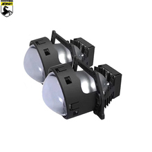 SANVI 3inch CLC 45W 5500k Car Bi LED Projector Lens Headlight With Hella 3R Bracket Motorcycle  Retrofit Kits