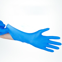 50 pcs Disposable Latex Tattoo Labor Insurance Waterproof Hand Wearable Thicken Protective Rubber Gloves