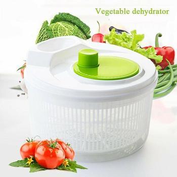 Vegetables Dryer Salad Spinner Fruits Basket Fruit Wash Clean Basket Storage Washer Drying Machine Useful Kitchen Tools
