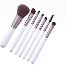 7pcs Cosmetic Pen Tools Makeup Brushes Set Eye Shadow Eyelash Eyebrow Pro Beauty Make Up Brush Maquiagem