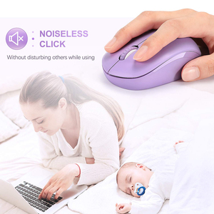 Image 3 - SeenDa Mini Wireless Mouse Silent Click 2.4G Mouse Wireless Ergonomic Mute Mice for Laptop Notebook Computer Optical Mause USB