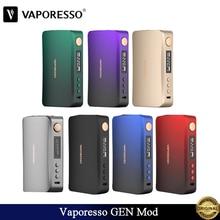 Vaporesso GEN Mod 220 Вт коробка мод электронная сигарета Vape подходит для электронных сигарет с двумя аккумуляторами 18650 SKRR S бак испаритель пара