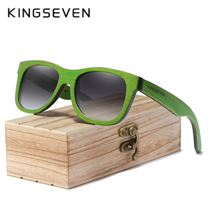 KINGSEVEN Handmade 2020 Natural Wooden Sunglasses Men Polarized Gradient Lens Women Traveling Vintage Sun Glasses Oculos De Sol