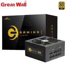 Grote Muur Computer Voeding 650W 12V 24 Pin Atx Stroombron 140Mm Mute Fan Gaming 80 plus Goud Psu Unit Pc Voeding
