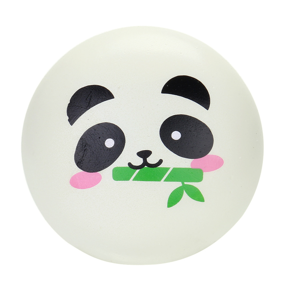 Kids Toys Elastic Environmentally PU 1 Pc 8cm Squishies Panda Doughnut Slow Rising Squeeze Scented Stress Reliever Toys