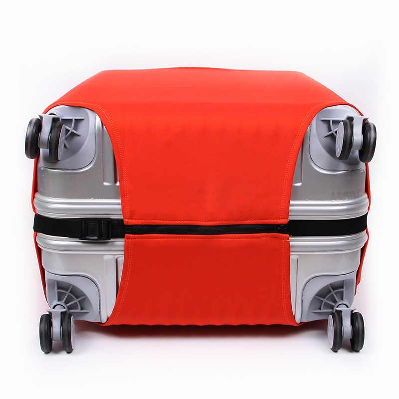 JULY'S SONG уплотненный дорожный Багаж защитный чехол для 18-32 дюймов костюм чехол Чехол тележка эластичный багажный чехол Аксессуары для путешествий
