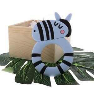 Image 5 - Mordedor de bebê atob 10 peças, peça de chupeta de koala roedor unicórnio seguro, mastigação alimentar, brinquedos da dentição do bebê, colar de pingente, acessórios