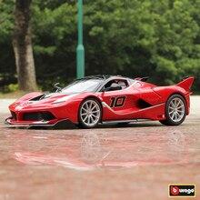 Bburago 1:18 Ferrari FXXK 10  car alloy model simulation decoration collection gift toy Die casting boy