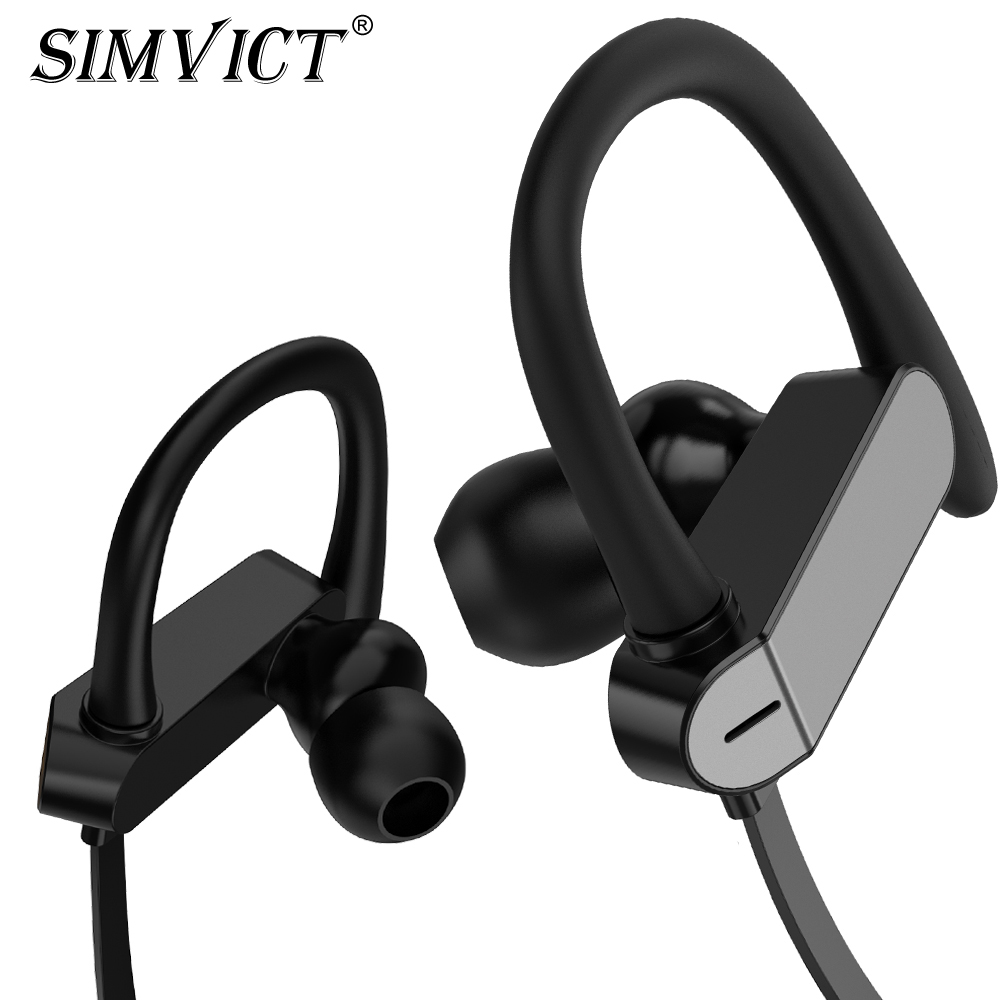 Simvict Colorful Fashion Sport Earphone Headset Music Bass Stereo Headphones With Microphone Running Earbuds For Mobile Phones