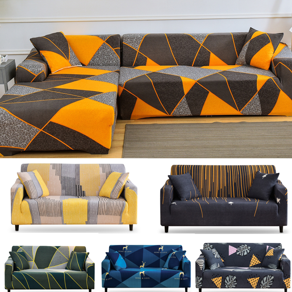 Geometric Sofa Slipcovers Elastic Sofa Cover Armchair Cover 2 Seater 3 Seaters Couch Cover Stretch Sofa Bezug Covers Living Room Sofa Cover Aliexpress