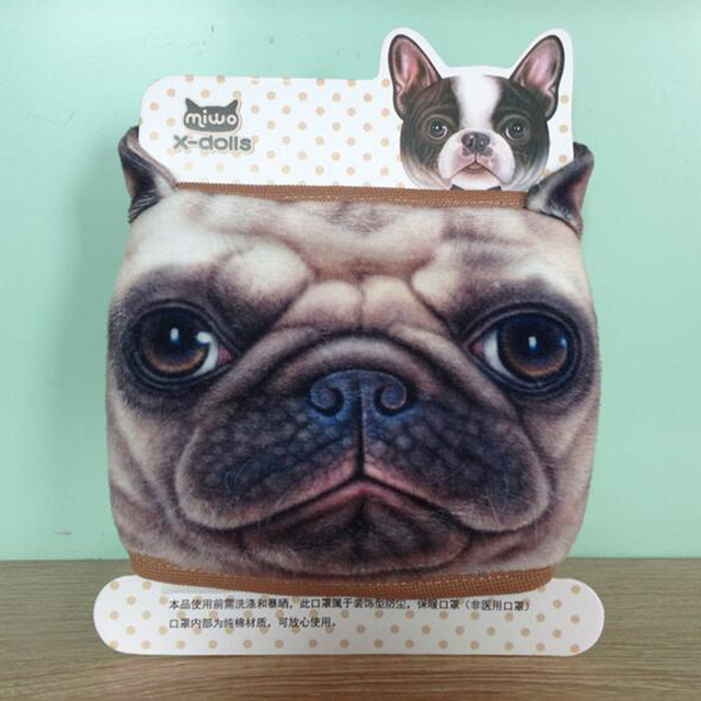 1Pcs Cartoon Dog Dust-proof Breathable Anti Haze Cotton Protective Mouth Face Mask Anti flu Anti Virus Mask 3