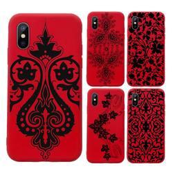 Роскошный чехол для телефона с привлекательной кружевной мандалой и цветами, чехол карамельных цветов для iPhone 11 12 mini pro XS MAX 8 7 6 6S Plus X SE 2020 XR