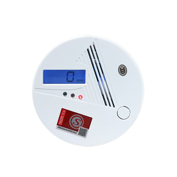 Wireless Photoelectric Carbon Monoxide CO Detector for Home Fire Security with LED Digital Indicator 85dB Alarm Alert Sound big discount wireless zigbee smart carbon monoxide detector 85db fire alarm controlled by mobile app