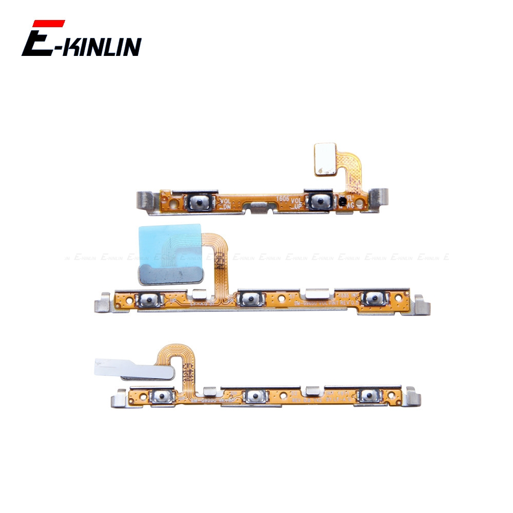 Power ON OFF Mute Switch Control Key Volume Button Flex Cable Parts For Samsung Galaxy S7 Edge S8 S9 S10 Plus