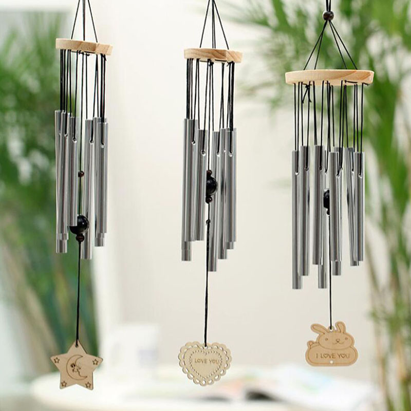 Antique Resonant 8 Tubes Wind Chime Bells Hanging Living Bed Home Decor Gift Car Outdoor Yard Garden Deco Wind Chimes(China)