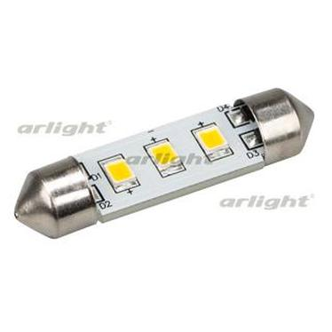 019430 Auto Lamp Arl-f37-3e Warm White (10-30 V, 3 Led 2835) Arlight 1-piece