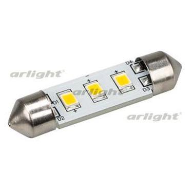 019430 Auto Lamp Arl-f37-3e Warm White (10-30V, 3 Led 2835) Arlight Package 1-piece