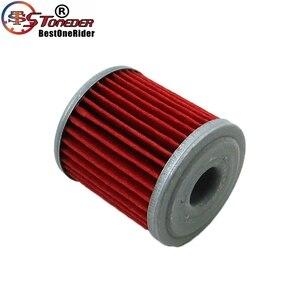 Image 5 - STONEDER 5x Oil Filter For KAWASAKI KX450F KX250F KX250 SUZUKI RMZ450 RMZ250 RMX450Z FL125 SDW BETA EVO 250 300 SPORT 4 STROKE