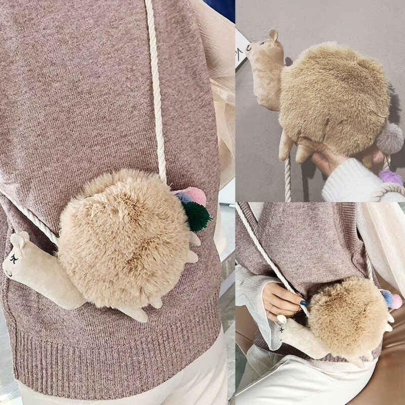 2020 Women Alpaca Llama Shoulder Messenger Bag Purse Handbag Crossbody Satchel Hot Bag Tote Satchel Purse Wallet Lovely Handbag