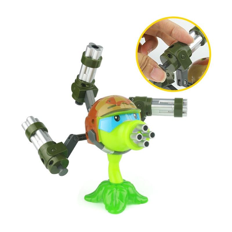 Купить 1 шт интересные растения против зомби аниме фигурка модель пуска